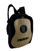 Classic Acoustic Guitar Cotton Canvas Backpack