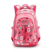 UrChoiceLtd® 2017 RUIPAI Children's Pupils Backpack School Bags 1-3-6 Grades 6-13 Year-Old Boy / Girl Shoulder Schoolbag College Lightening care Guards Waterproof Burdens Backpacking