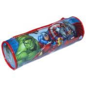 Marvel 7475010PVC Avengers Round Pencil Case