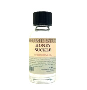 Honey Suckle Perfume Oil for Perfume Making, Personal Body Oil, Soap, Candle Making & Incense; Splash-On Clear Glass Bottle. Premium Quality Undiluted & Alcohol Free