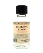 Dragon's Blood Perfume Oil for Perfume Making, Personal Body Oil, Soap, Candle Making & Incense; Splash-On Clear Glass Bottle. Top Quality Undiluted & Alcohol Free