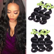 IUEENLY Hair Peruvian Body Wave 4 Bunsles Human Hair Weave 7A Unprocessed Peruvian Virgin Hair Bundles Natural Colour
