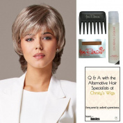 Bundle - 5 items: Advantage Wig by Gabor, 15 Page Christy's Wigs Q & A Booklet, Wig Shampoo, Wig Cap & Wide Tooth Comb (Colour Selected