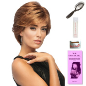 Sublime by Gabor, Wig Galaxy Hair Loss Booklet, 60ml Travel Size Wig Shampoo, Wig Cap, & Loop Brush (Bundle - 5 Items), Colour Chosen