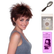 (4 Item Bundle) - (#BT-6023) Bedhead by Belle Tress, Wig Brush, Booklet and a Free Wig Cap Liner. …