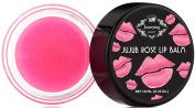 Rose Lightening Lip Treatment - Rich Shea Butter Lip Balm, Goes on Clear, Softens, Hydrates, Nourishes & Lightens Dark Lips - Net 10ml