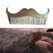 OR Pure Beard Shaping Tool Beard Styling and Shaping Template Comb Tool for Perfect Lines & Symmetry Stainless Steel