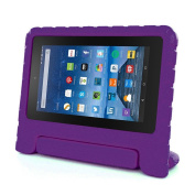For Kindle Fire HD 7, AMA(TM) Children Kids Shock Proof EVA Handle Case Cover for Amazon Kindle Fire HD 7 2015
