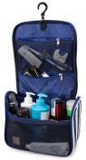 Cosmetic Bag - Large Hanging Toiletry Bag for Men and Women - Travel Toiletries Organiser