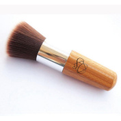 S & C 2PCS Round Soft Smooth Hair Makeup Brushes Blush Brushes Professional Makeup Brushes