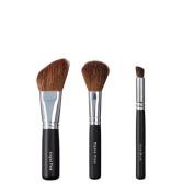 VEGAN LOVE Angled Face Tapered Cheek Brush Trio, Slope