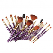 Sunward(TM) 19pcs Professional Make Up Foundation Powder Brush
