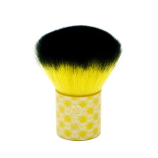 LONDON SOHO NEW YORK Disney Collection Enchanted Beauty Kabuki Brush, Belle Yellow