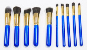 AENMIL 10pc Studio Pro Makeup Make Up Cosmetic Brush Set Kit - For Eye Shadow, Blush, Etc.
