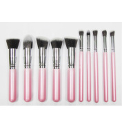 AENMIL Professional Makeup Brush Set 10PCS Eyebrow Shadow Blush Cosmetic Foundation Concealer Brush Tool Kit