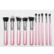 AENMIL Professional Makeup Brush Set 10PCS Eyebrow Shadow Blush Cosmetic Foundation Concealer Brush Tool Kit