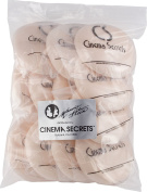 Cinema Secrets Pro-Puffs Professional Powder Puff, 12-count