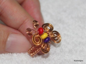 Butterfly Ring Wireworks Tutorial T88