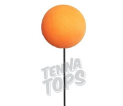 Tenna Tops - 10 pcs Plain Orange Craft Foam Balls / Antenna Balls