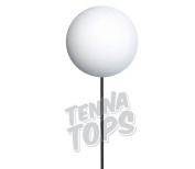 Tenna Tops - 10 pcs Plain White Craft Foam Balls / Antenna Balls