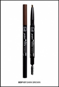 J. Cat Perfect Brow Duo Pencil 107 Dark Brown