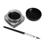 Toraway Pro Waterproof Black Eye Liner Eyeliner Gel Cream With Makeup Brush
