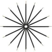KINGMAS Disposable Eyeliner Makeup Brush Applicator, Qty:100