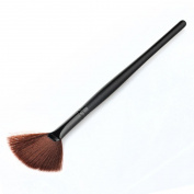 Sankuwen 1PC Makeup Fan Goat Hair Blush Face Powder Foundation Brush