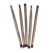 HP95(TM) 5PCS Makeup Eye Powder Foundation Eyeshadow Blending Double-Ended Brush Pen