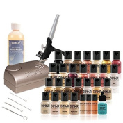 Dinair Airbrush Makeup | 32pc Makeup Deluxe Kit | For Professional & Personal Use Set