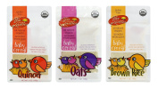 Gluten Free Organic, Sprouted Baby Cereal Assortment