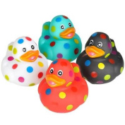 Rhode Island Novelty - Rubber Ducks - POLKA DOT DUCKIES