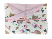 Baby Zoo Baby Blanket from Memere Blanket Great for Girls