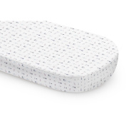 Babyletto Galaxy Oval Fitted Crib Sheet,