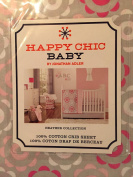 Happy Chic Baby Heather Floral Crib Sheet By Jonathan Adler