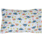 Toddler Pillowcase 13x18. Envelope Style. 100% Cotton. Hypoallergenic