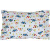 Toddler Pillowcase 13x18. Envelope Style. 100% Cotton. Hypoallergenic