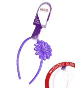 Girl's Colour-Changing Headband by Del Sol - Daisy Headband - Changes Colour in the Sun