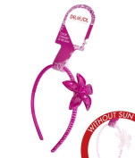 Girl's Colour-Changing Headband by Del Sol - Plumeria Headband - Changes Colour in the Sun