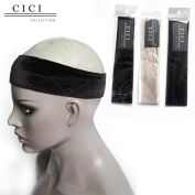 Cici Collection Wig Rip Extra Hold Band Flexible Velvet Wig Grip Scarf Head Hair Band Adjustable Fastern Original ELASTIC Maximum Comfort Wig Grip Hook and loop Free Wig Band