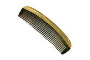 Medium Tooth Comb Sandalwood Frame and Buffalo Horn Teeth Handmade Comb - JM004 by Ricocoinc