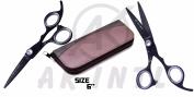 MEDUSA 15cm Professional Hair cutting White Dimond Scissor