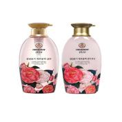 Organist Jeju Camellia Shampoo, Conditioner set