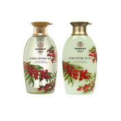 Organist Jeju Soapberry Shampoo and Conditioner set
