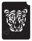 Tiger 1005 Body Art Glitter Makeup Tattoo Stencil- 5 Pack