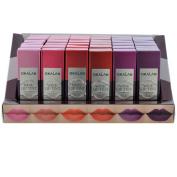 Okalan Wine Lip Tint Gloss Light Lasting Brilliant 3 DZ / 36 pcs