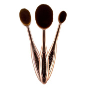 Makeup Revolution Precision Contour Set of 3 Makeup Brushes