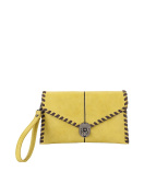 Sydney Love Laced Convertible Clutch Crossbody, Celery