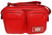 Tyler Rodan Asbury Mid Cross Body, Candy Apple