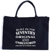 Built In The Seventies Original And Unrestored Birthday Gift - Tote Bag